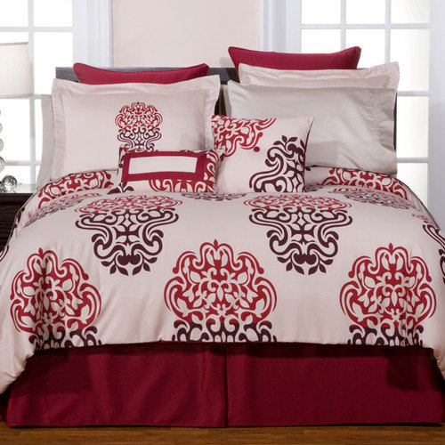 Pointehaven Luxury Ensemble 6 Piece Comforter Set