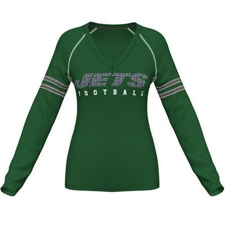 Womens Long Sleeve New York Jets NY Shirt by
