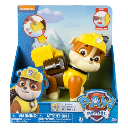 paw patrol jumbo action pup rubble - Inventory Checker