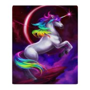 "CafePress - Unicorn Dream - Soft Fleece Throw Blanket, 50""x60"" Stadium Blanket"