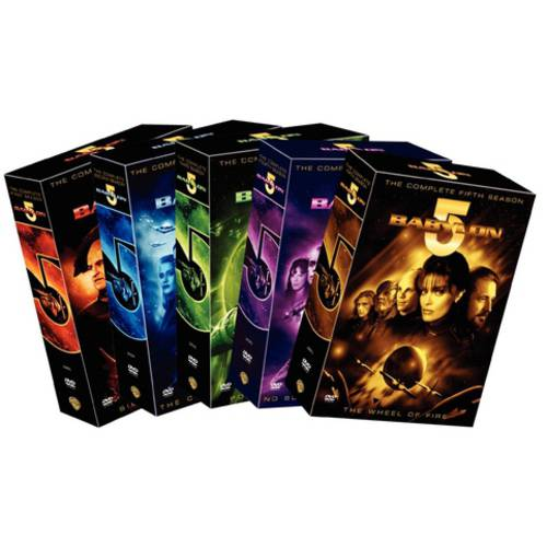 Babylon 5: The Complete Series (With Movies)