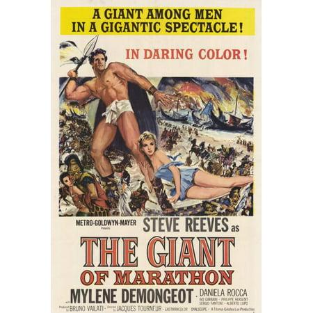 The Giant of Marathon POSTER Movie (27x40) - Halloween Movie Marathon 2017