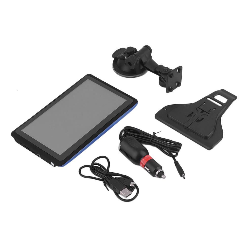 Professional 7 Inch HD Capacitive Screen Cars Vehicles Truck GPS Navigation FM 8GB