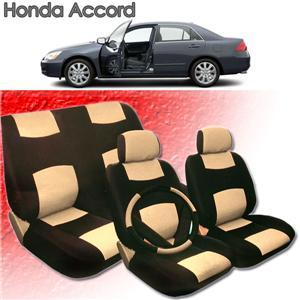 1997 1998 1999 2000 Honda Accord Synthetic Leather Seat Cover Set ALL FEES INCLUDED!