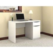 Bush Furniture Montrese Computer Desk in Pure White