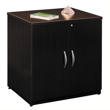 Bush Business Series C 30W Storage Cabinet in Mocha Cherry