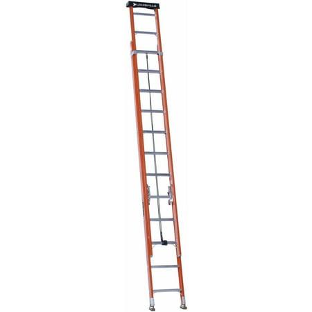Louisville Ladder L-3022-24PT 24 ft. Fiberglass Extension Ladder, Type IA, 300 lbs Load