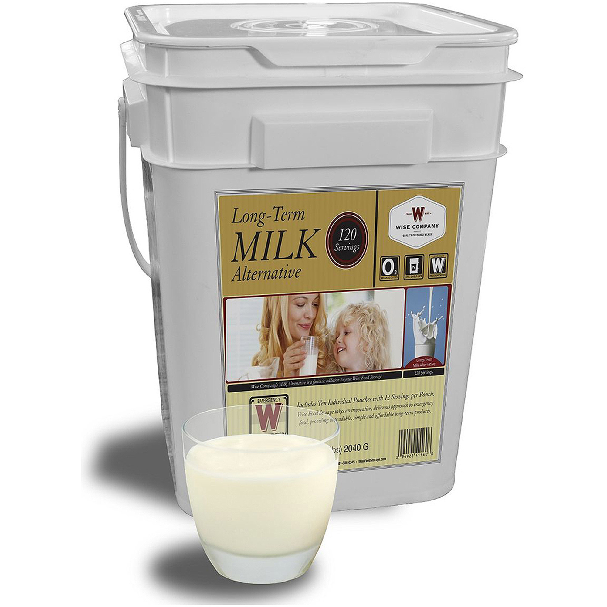 Wise Emergency Freeze Dried Powdered Whey Milk - 120 Servings
