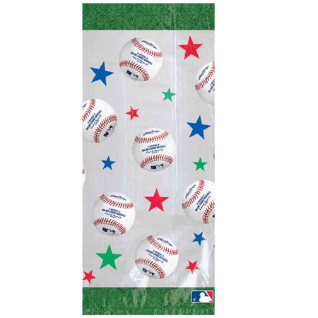 Baseball Party Favors (Baseball Cello Party Bags (20 Pack) - Party)