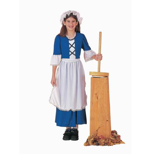 Girl Colonial Costume - Size M
