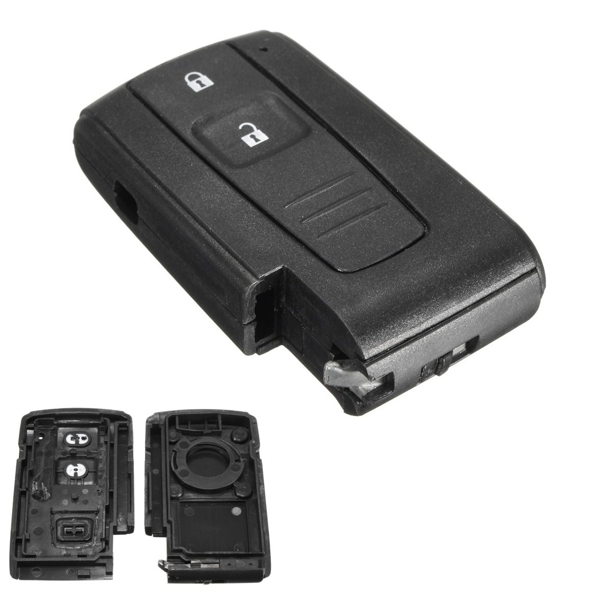 Autoleader 2 Buttons Flip Smart Remote Entry Keyless Key Case Shell For Toyota Prius 04-09 New