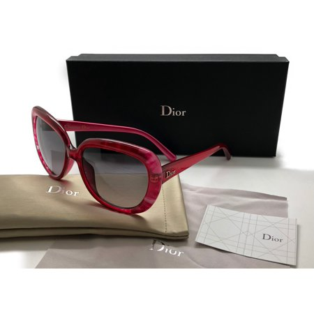 004601eb7b Christian Dior Oversized Sunglass Tie Dye 1  5IZ EU Fucsia Grey Lens 56mm -  Walmart.com