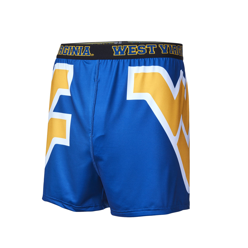 WVU West Virginia University Mountaineers Men's Everyday Underwear by Fandemics