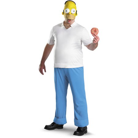 Homer Adult Halloween Costume