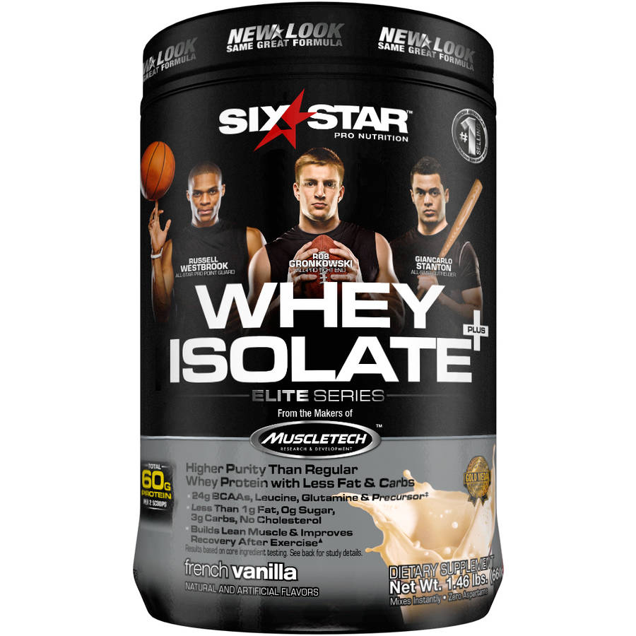 Six Star Pro Nutrition Whey Protein Isolate Vanilla Cream, 1.5 lb