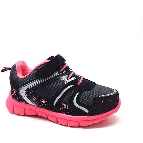 Danskin Now Toddler Girl'S Lightweight Fastner Cross-Trainer Shoe