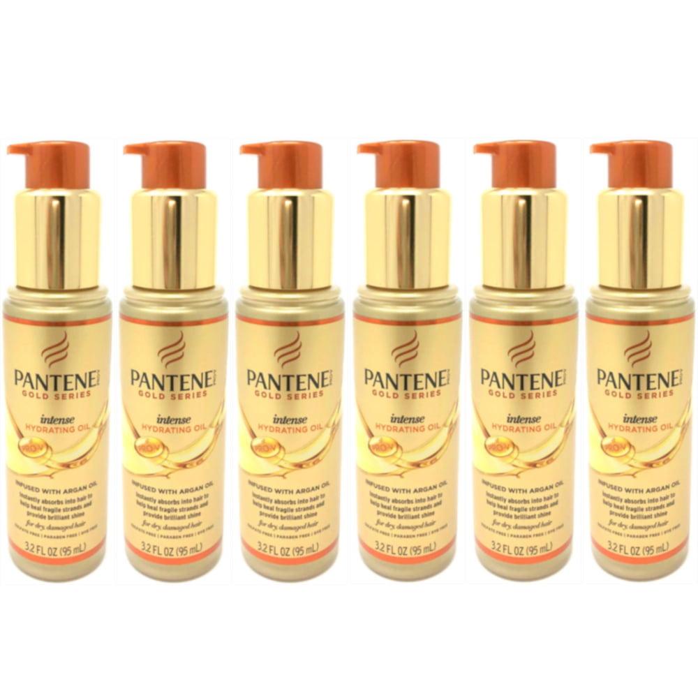 6 Pack Pantene Pro-V Gold Series Intense Hydrating Oil Treatment 3.2 Ounces each