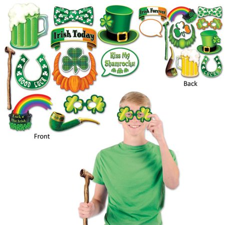The Beistle Company 12 Piece St Patrick's Day Photo Fun Sign Set](St Patrick's Day Signs)