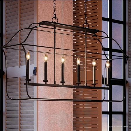 Urban Ambiance Luxury Colonial Chandelier, Large Size: 25.25