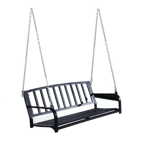 Outsunny Porch Swing 2 Person Outdoor Porch Swing Bench