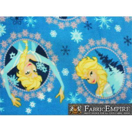 Fleece Printed Fabric FROZEN ANA / 58