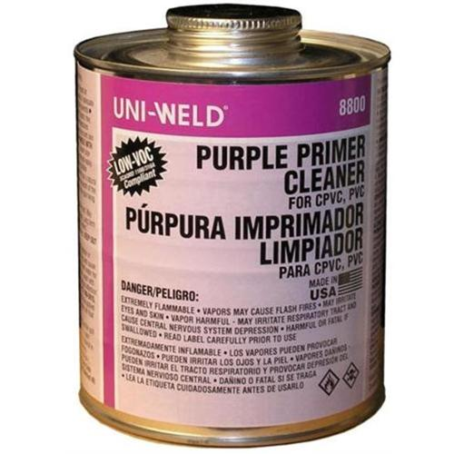 Morris Products G8836S Quart Purple Primer - Cleaners 8800