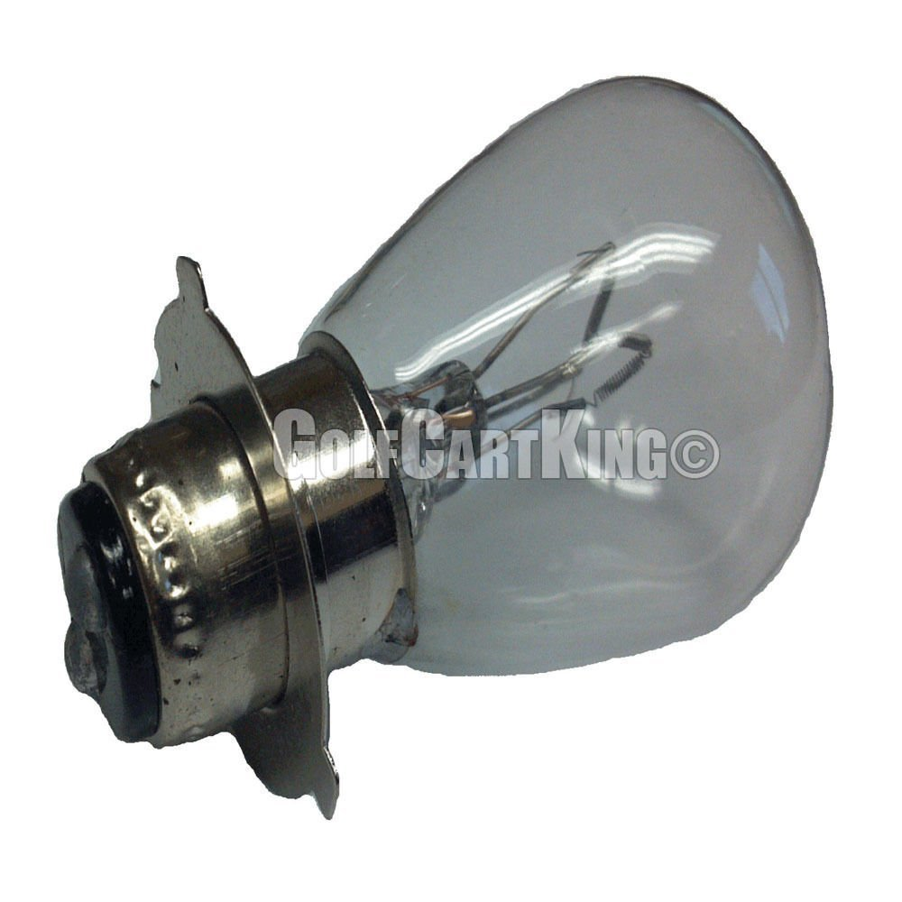 Club Car DS (1986-1992) 12V Golf Cart Double Filament Replacement Headlight Bulb By GOLF CARTS UNIVERSE