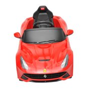 ferrari f12 kids 6v electric ride on toy car w parent remote control red