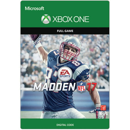 Madden NFL 17 Full Game Xbox One Email Delivery  Walmart.com