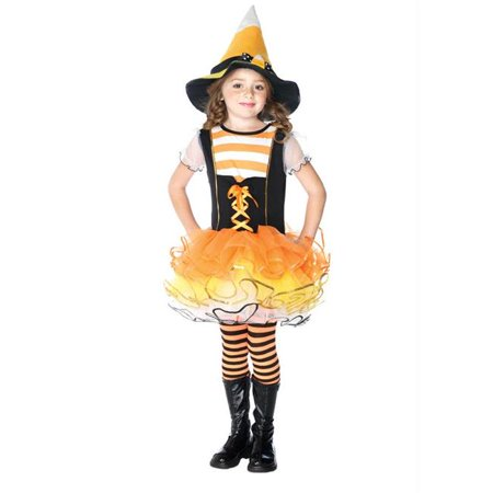 Costumes For All Occasions Uac48159Xs Candyland Witch Chld Xsm 3-4