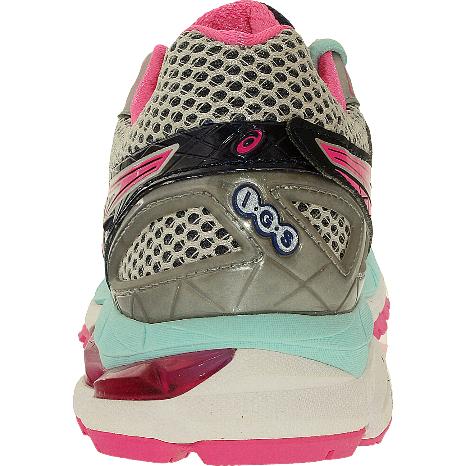 Asics Women's Gt-2000 3 Lightning/Hot Pink/Navy Low Top Running Shoe - 6.5N