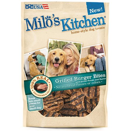 Milos Kitchen 7910052126 Milos Burger Dog Treat