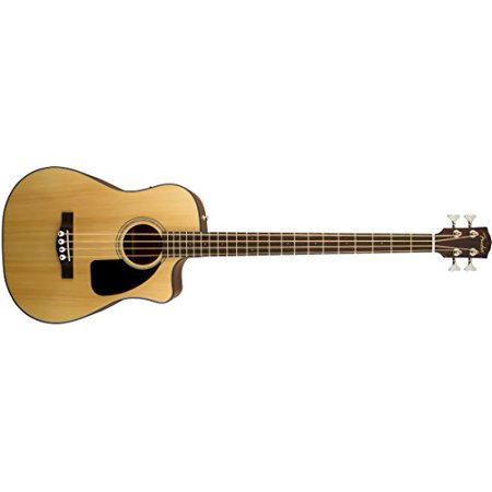 Fender CB-100CE Dreadnought Cutaway Acoustic-Electric Bass - Natural ()