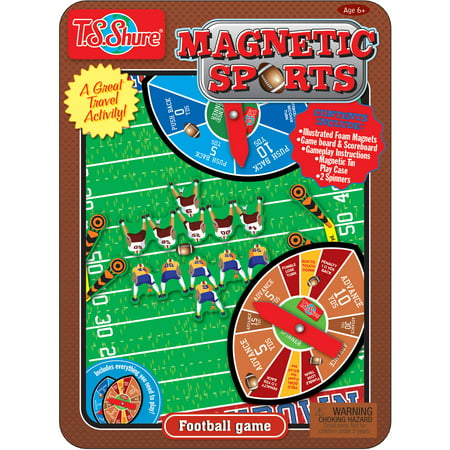 Magnetic Professional Football (T.S. Shure Football Magnetic Sports Game Tin)