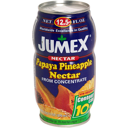 Jumex Papaya And Pineapple Nectar, 11.3 oz (Pack of 24)