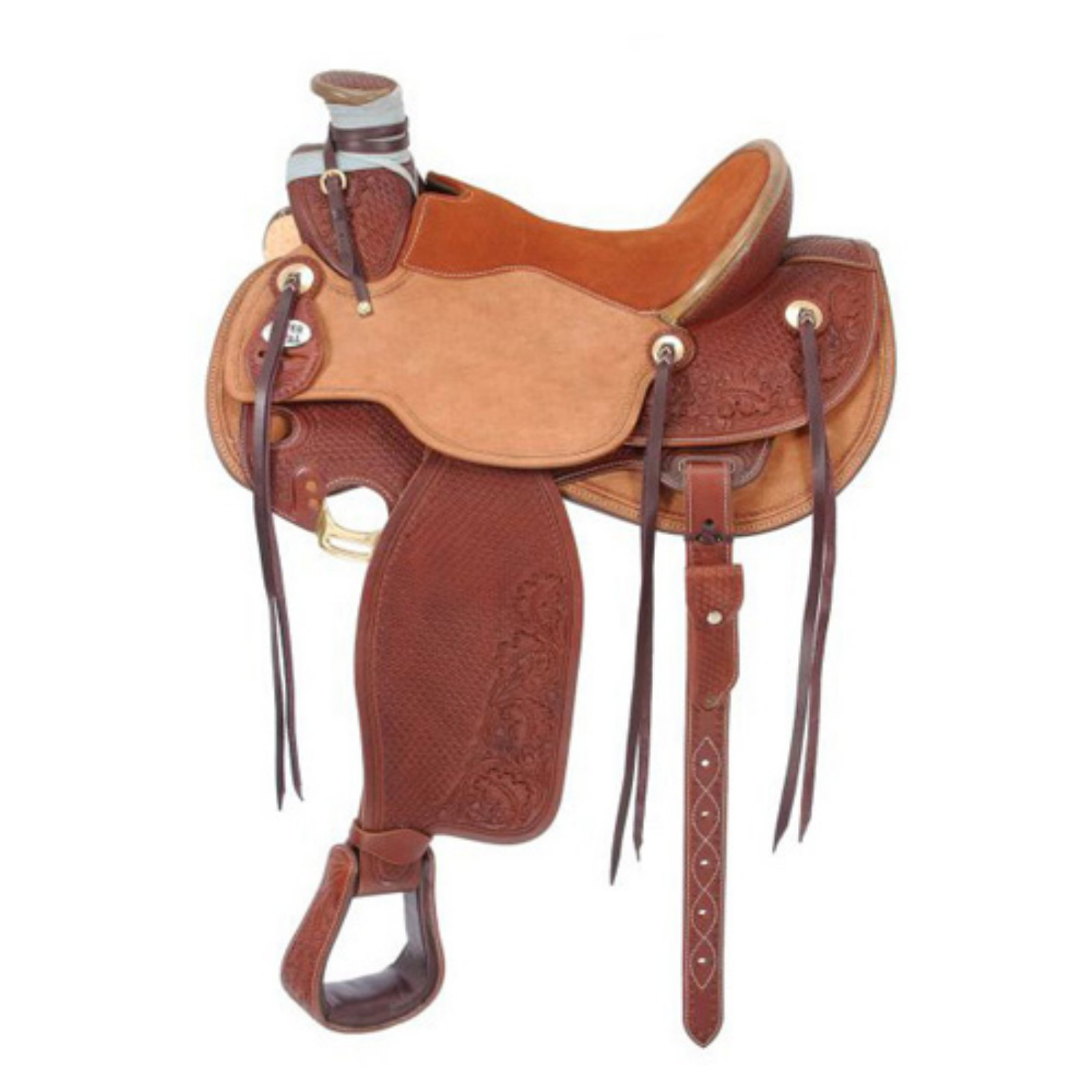 Silver Royal Wade Working Saddle