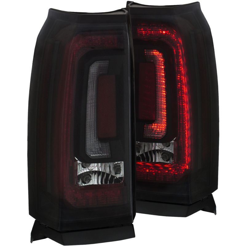 ANZO 2015-2016 Chevrolet Tahoe LED Taillights Smoke