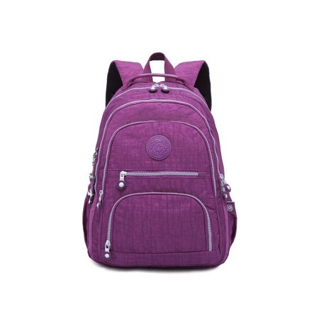 Nylon Backpack Lightweight Travelling Backpack Durable Daypack for Woman