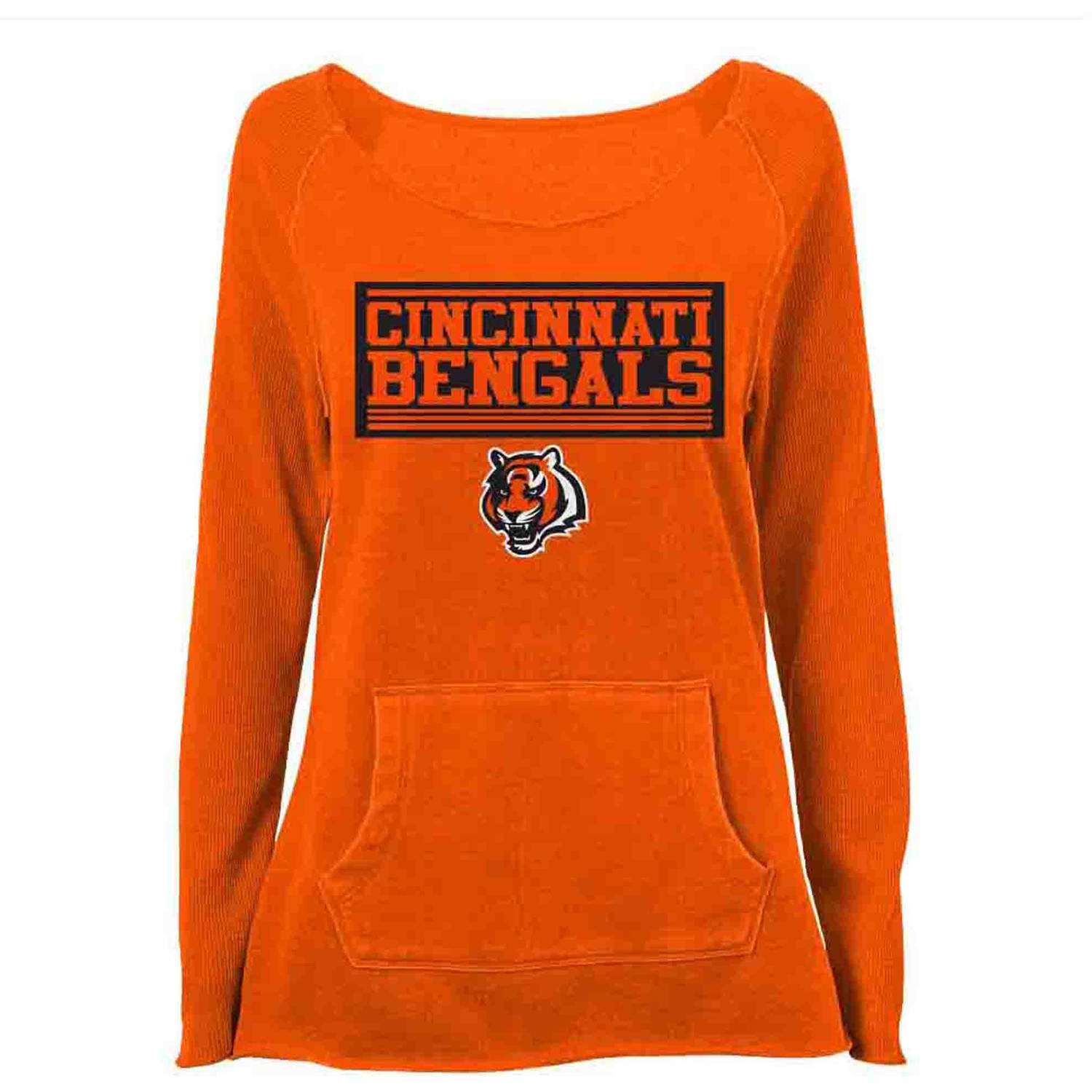 NFL Cincinnati Bengal Girls Fleece Top
