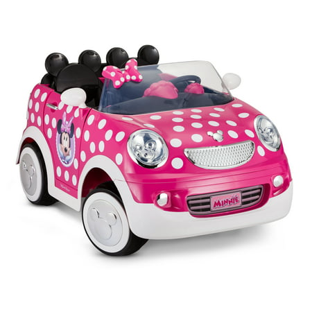 Disney's Minnie Mouse Hot Rod Coupe, 12-Volt Ride-On by Kid