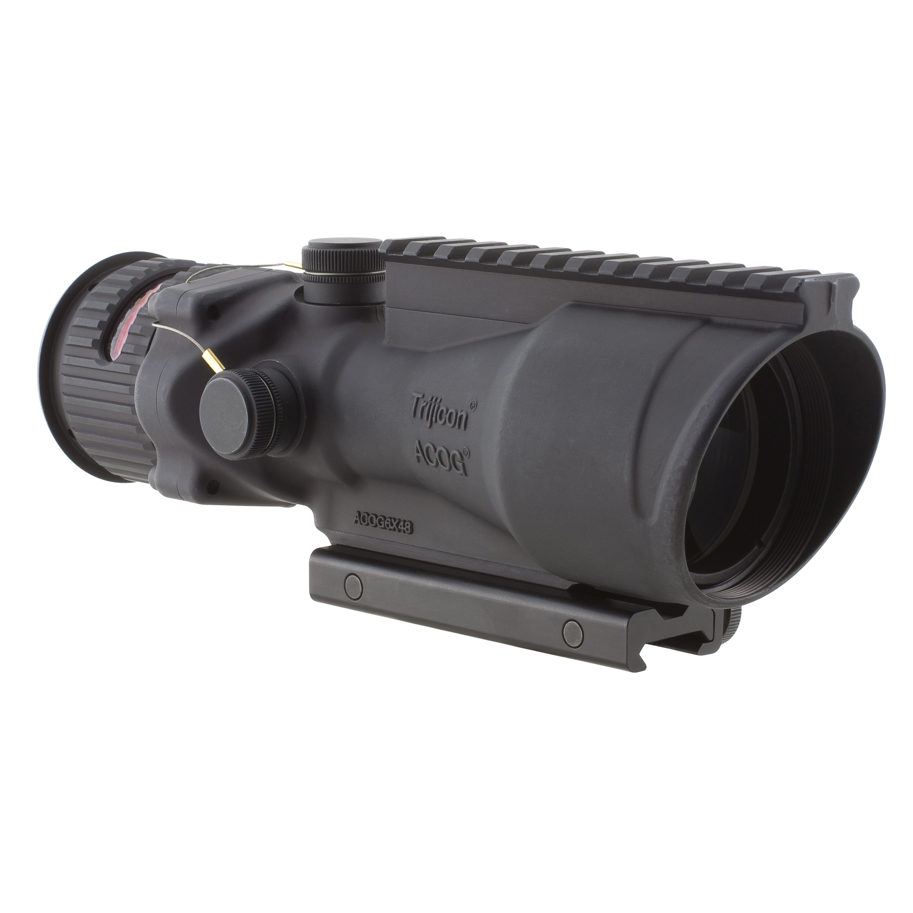 Trijicon ACOG 6x48 Dual Illumination Red Chevron 223 Ball TA648 by Trijicon