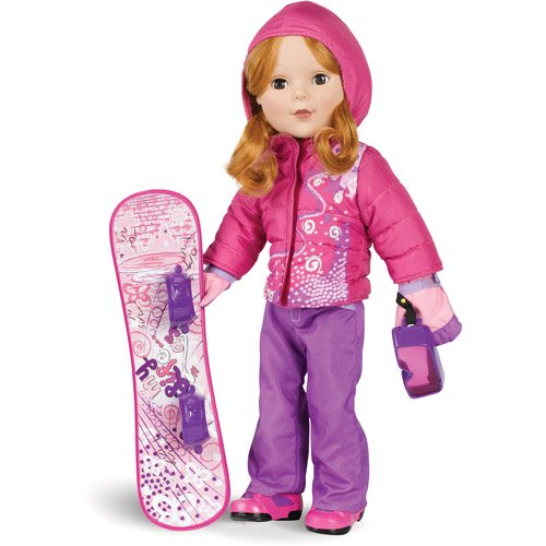 Baby Doll Clothes At Walmart Extraordinary My Life As Snowboard 60 Doll Clothing Accessory Set Walmart