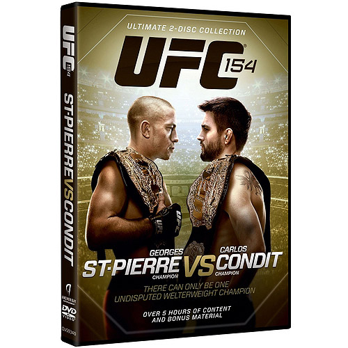 UFC 154: St-Pierre Vs. Condit (Widescreen) by ANCHOR BAY/STARZ