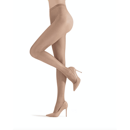 MeMoi Classic Mini Net Fishnet Stockings | Buy Fishnet Tights from MeMoi X-Large / Nude MM 634