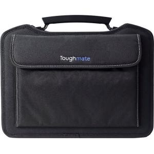 InfoCase Toughmate Always-On Carrying Case (Carry On) for Notebook, Accessories - Black - Scratch Resistant, Dent Resistant, Drop Resistant, Damage Resistant - EVA Foam, Nylon - Shoulder Strap -