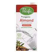 Walmart Pacific Natural Foods Organic Almond Milk Original Unsweetened