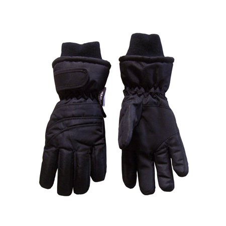 NICE CAPS Kids Boys Girls Unisex Bulky Waterproof and Thinsulated Insulated Ski Snow Winter Glove With Ridges - Fits Toddler Youth Childrens Child Sizes For Cold Weather Outdoors - Michael Jackson Kids Glove