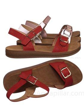 7d66730b64c Womens Comfort Sandals - Walmart.com