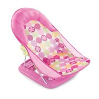 Summer Infant Deluxe Baby Bather, Circle Daisy