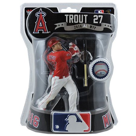 """IMPORTS DRAGON 2017 MLB ANGELS 6"""" MIKE TROUT EXCLUSIVE FIGURE ALTERNATE UNIFORM VERSION By Baseball Figures Ship from US"""